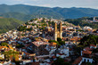 View over Colonial city of Taxco, Guerreros, Mexico - 69293682