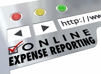 Online Expense Reporting Website Online Receipt Entry