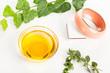 aromatherapy oil and bracelet