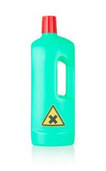Plastic bottle cleaning-detergent