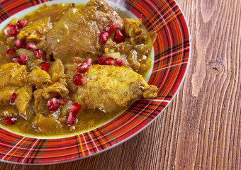 Fesenjan Persian Chicken Stew