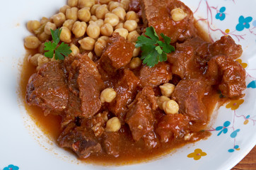 Chtitha Lham – Lamb in a Red Sauce