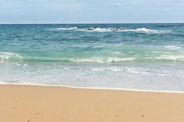 Beautiful landscape of beach