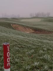 Zagreb Golf course in winter