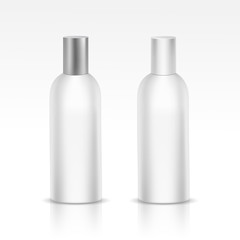 Vector Isolated Blank Bottle