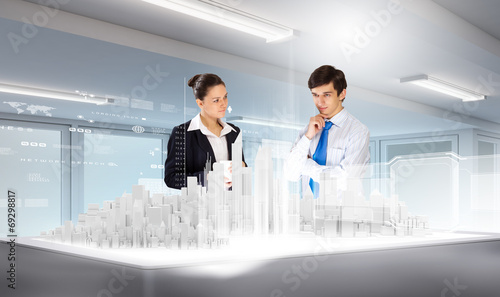 canvas print picture Engineering industry