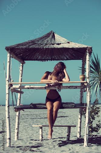 Leinwandbild Motiv summer relax