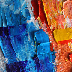 real abstract color oil paint as background