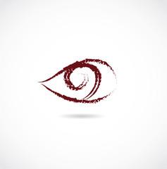 eye love icon