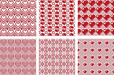 Pixel Pattern Love Collection 1