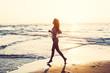 run at sandy beach