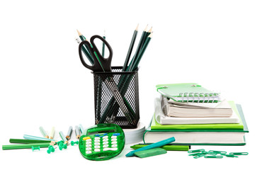 Office and school accessories. Back to school.