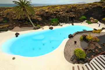 Lanzarote, Wyspy Kanaryjskie, Hiszpania, krajobraz wulkaniczny
