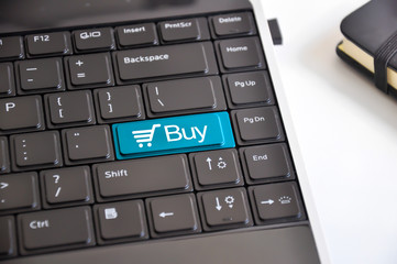 Buy now keyboard button