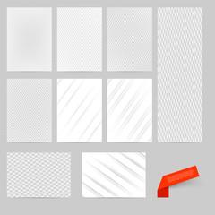 Abstract vector modern flyer  brochure design
