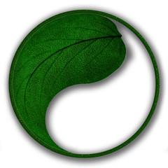 stylize green mark of ecology