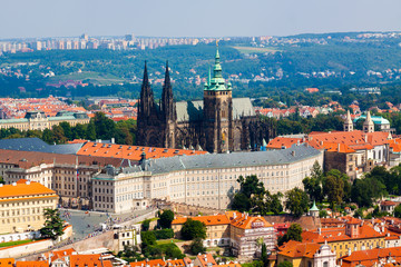 Prague. The St. Vitus Cathedral.