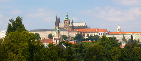Prague. The St. Vitus Cathedral.