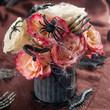 canvas print picture - Halloween bouquet