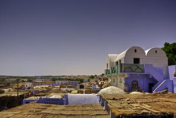 Poblado Nubio, Egipto