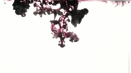Smoky Ink drops into Water