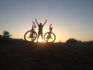 bisiklet turu ve sevgisi