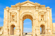 The Arch of Hadrian in Gerasa, modern Jerash, Jordan
