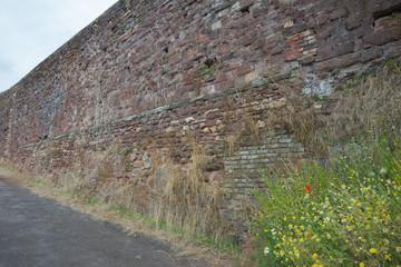 A wall Rebuilt