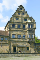 Old Town architecture with Municipal Museum building in Bamberg