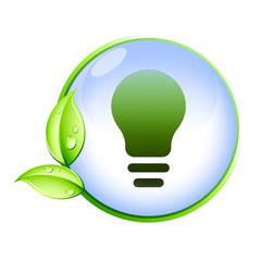 Icone bio : ampoule