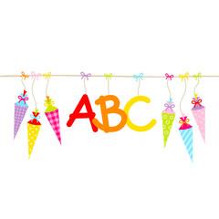 Schultüten & ABC
