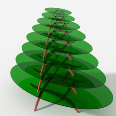 Albero Natale tavolo design