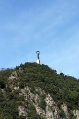 Liberty statue Gellert hill Budapest
