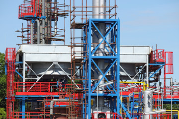 new factory construction site industry detail