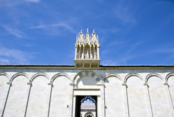 Monumental Cemetery of the cathedral of Pisa - Tuscany