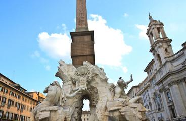 Piazza Navona in Romrom