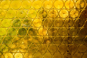 Yellow glass background