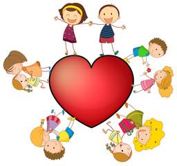 Children and heart
