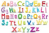 Fototapety Alphabets