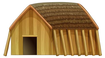 A viking's shelter