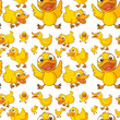 Seamless design of ducklings