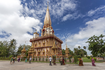 Wat Chalong Phuket province, Thailand.