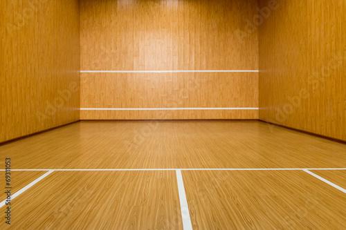 Foto op Plexiglas Fitness The squash court