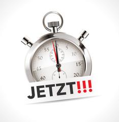 Stoppuhr - Jetzt