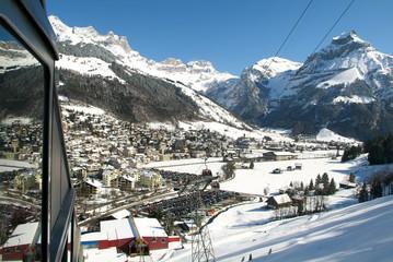 The village of Engelberg
