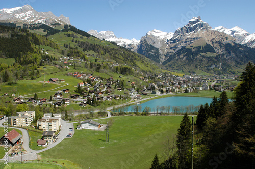The village of Engelberg
