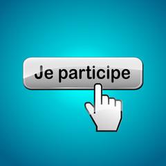 Vector participate button