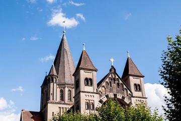 Kirche -Herz Jesus in Saarbrücken