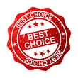 """best choice"" wektor"