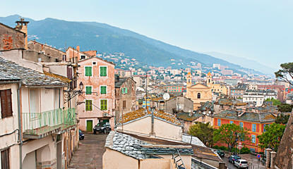 The roofs of Bastia